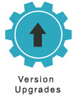 CMS version upgrades