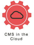 CMS hosted in the cloud